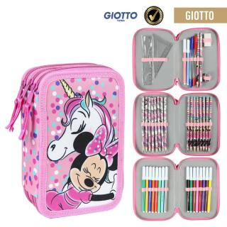 FILLED PENCIL CASE TRIPLE GIOTTO MINNIE Other One size