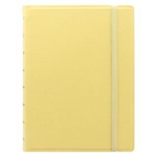FILOFAX Notebook Pastel A5 žlutá