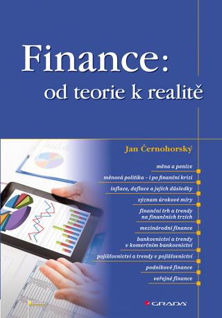 Finance: od teorie k realitě, Černohorský Jan