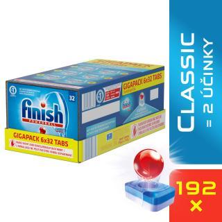 FINISH Classic GIGAPACK 192 ks – tablety do myčky modrá