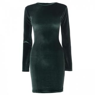 Firetrap Blackseal Velvet Dress dámské Other M