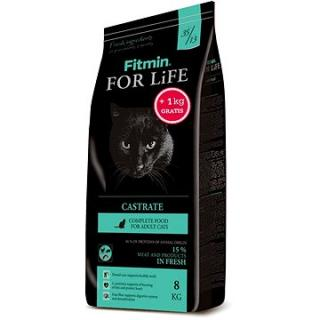 Fitmin Cat For Life Castrate 8 kg   1 kg