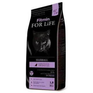 Fitmin cat For Life Hairball - 1,8 kg