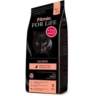 Fitmin Cat For Life Salmon 8 kg   1 kg