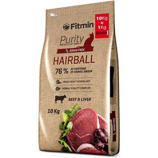 Fitmin Cat Purity Hairball 10 kg   1 kg