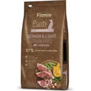 Fitmin dog Purity GF Senior&Light Lamb - 12 kg