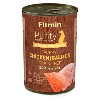 Fitmin dog Purity tin PUPPY salmon with chicken 400 g