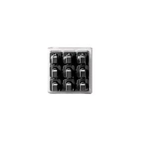 Fixační klipy na kabel 18 ks Barva: černá