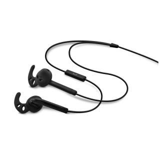 FIXED EGG3 Sportovní sluchátka s mikrofonem black