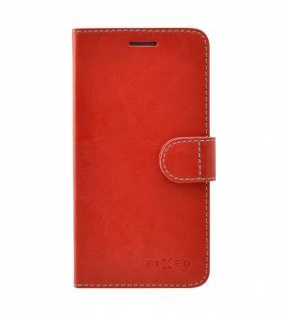 FIXED FIT flipové pouzdro pro Apple iPhone 11, červené