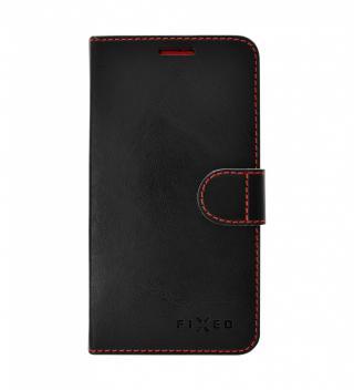 FIXED FIT flipové pouzdro pro Apple iPhone 11 PRO MAX, černé