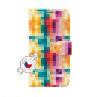 FIXED FIT flipové pouzdro pro Apple iPhone 11 Pro, motiv Dice