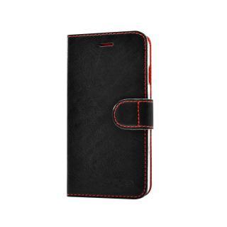 FIXED FIT flipové pouzdro pro Apple iPhone 5/5s/SE černé