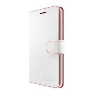 FIXED FIT flipové pouzdro pro Huawei Y7 bílé