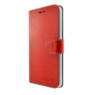 FIXED FIT flipové pouzdro pro Lenovo K8 červené