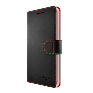 FIXED FIT flipové pouzdro pro Lenovo K8 Plus black