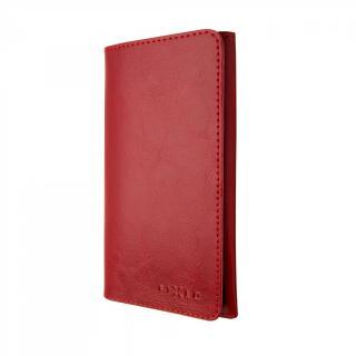 FIXED Pocket Book Kožené pouzdro pro Apple iPhone 6 Plus/6s Plus/7 Plus/8 Plus/XS Max, červené