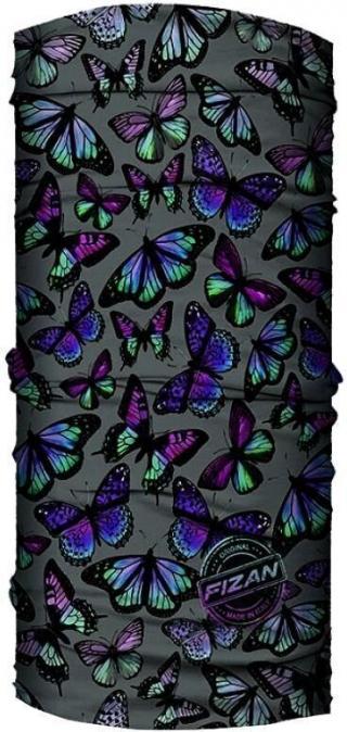Fizan Multi Scarve Butterfly