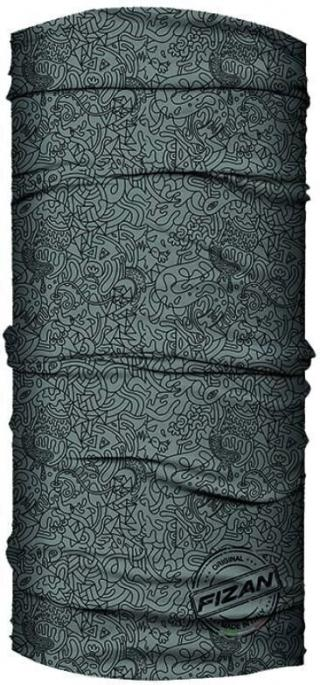 Fizan Multi Scarve Grey