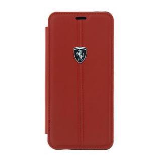 Flipové kožené pouzdro Ferrari Folio pro Samsung Galaxy S III, red