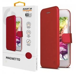 Flipové pouzdro ALIGATOR Magnetto pro Samsung Galaxy A02s, red