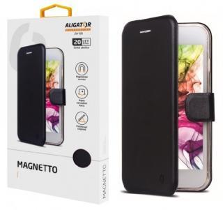 Flipové pouzdro ALIGATOR Magnetto pro Samsung Galaxy S21 (5G), black