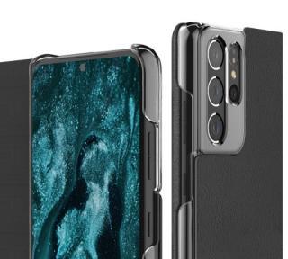Flipové pouzdro ARAREE Mustang pro Samsung Galaxy S21, charcoal grey