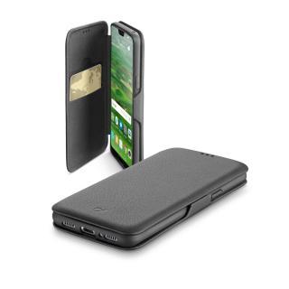 Flipové pouzdro CellularLine Book Clutch pro Huawei P20 černé