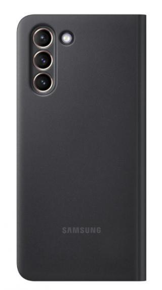 Flipové pouzdro Clear View Cover EF-ZG991CBEGEE pro Samsung Galaxy S21, černá
