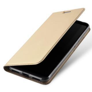 Flipové pouzdro Dux Ducis Skin pro Samsung Galaxy S20 Ultra, zlatá