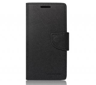 Flipové pouzdro Fancy Diary pro Samsung Galaxy A41, černá