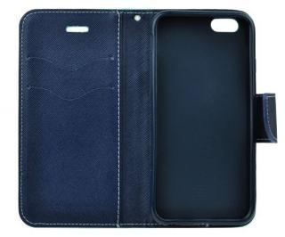 Flipové pouzdro Fancy pro Samsung Galaxy A42 5G, červená - modrá