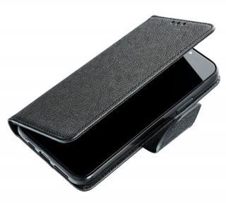 Flipové pouzdro Fancy pro Samsung Galaxy M12, černá - zlatá