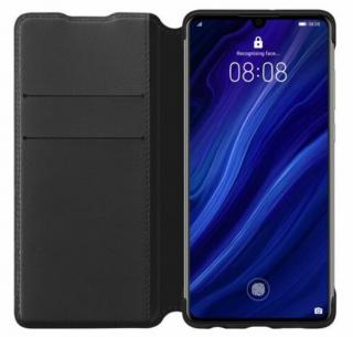 Flipové pouzdro Huawei Original Wallet pro Huawei P30, black