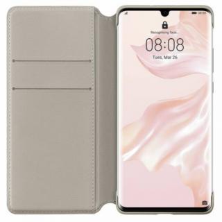 Flipové pouzdro Huawei Original Wallet pro Huawei P30 Pro, Khaki