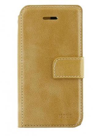 Flipové pouzdro Molan Cano Issue pro amsung Galaxy A32 LTE, zlatá