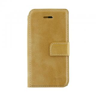 Flipové pouzdro Molan Cano Issue pro Samsung Galaxy A72, zlatá