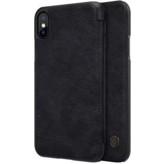 Flipové pouzdro Nillkin Qin Book pro Apple iPhone X, black