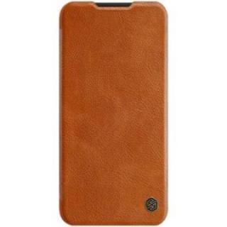Flipové pouzdro Nillkin Qin Book pro OnePlus Nord N10 5G, brown