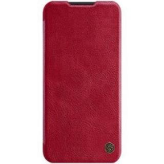 Flipové pouzdro Nillkin Qin Book pro OnePlus Nord N10 5G, red