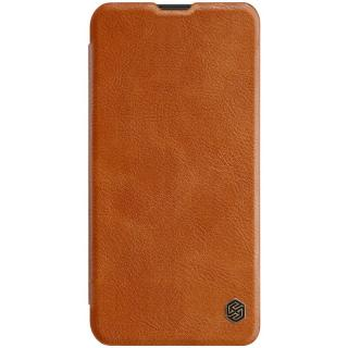 Flipové pouzdro Nillkin Qin Book pro Samsung Galaxy A10, brown
