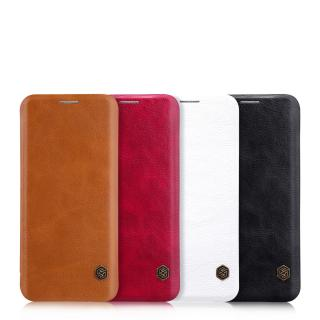 Flipové pouzdro Nillkin Qin Book pro Samsung Galaxy A11, červená