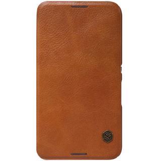 Flipové pouzdro Nillkin Qin Book pro Samsung Galaxy A70, brown