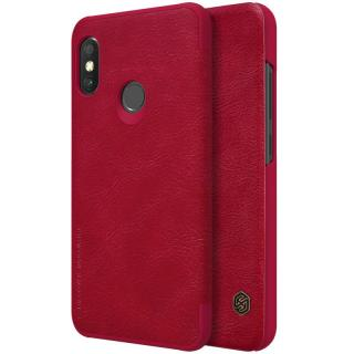 Flipové pouzdro Nillkin Qin Book pro Samsung Galaxy A70, red