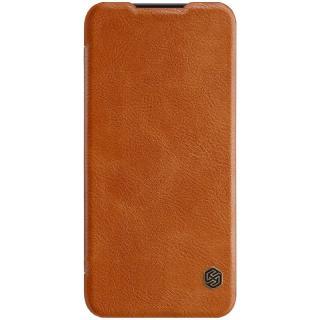 Flipové pouzdro Nillkin Qin Book pro Xiaomi Redmi Note 7, brown