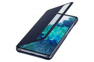 Flipové pouzdro Samsung Clear View Cover pro Samsung Galaxy S20 FE, námořní modrá