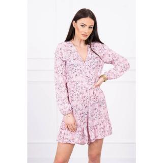 Floral suit powdered pink dámské Neurčeno One size