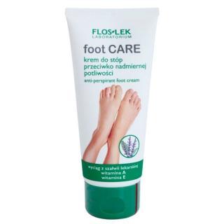 FlosLek Laboratorium Foot Care krém na nohy proti nadměrnému pocení 100 ml dámské 100 ml