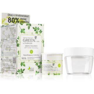 FlosLek Laboratorium GREEN for skin hydratační denní krém SPF 15 50 ml dámské 50 ml