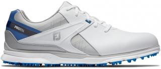 Footjoy Pro SL Mens Golf Shoes White/Grey/Blue US 10,5 pánské US 10,5